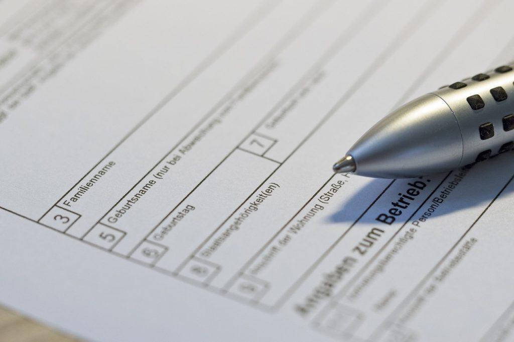 Nudges können die Qualität von Formularen verbessern