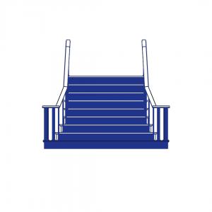 #treppegehtimmer – Stufenaufkleber Innenbereich