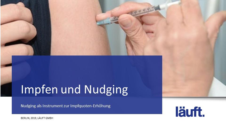 Impfen und Nudging_läuft