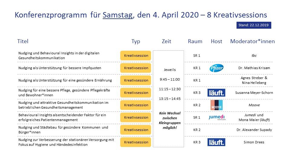 Nudge2020_Konferenz_läuft_Programm Samstag