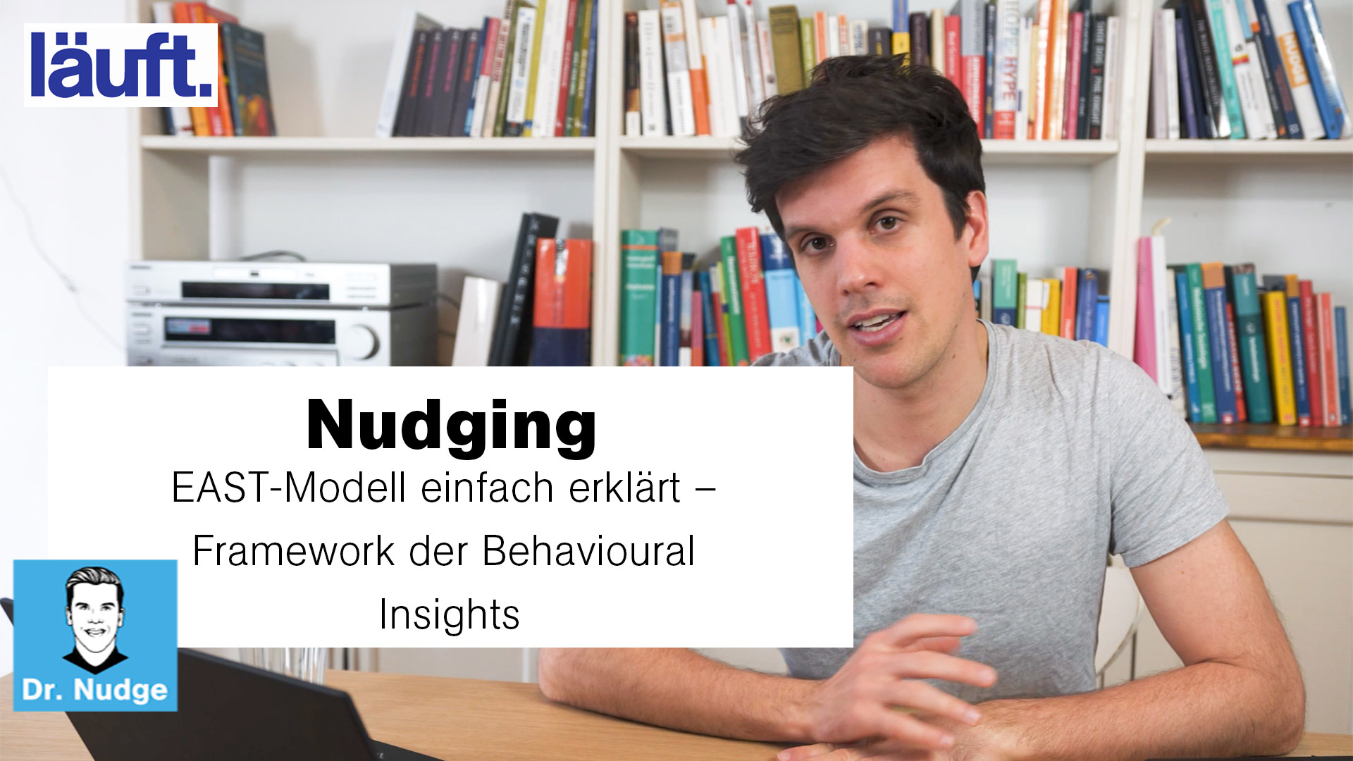 Nudging – EAST-Modell einfach erklärt – Framework der Behavioural Insights | Dr. Nudge #7